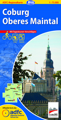 Coburg / Oberes Maintal GPS wp cycling map