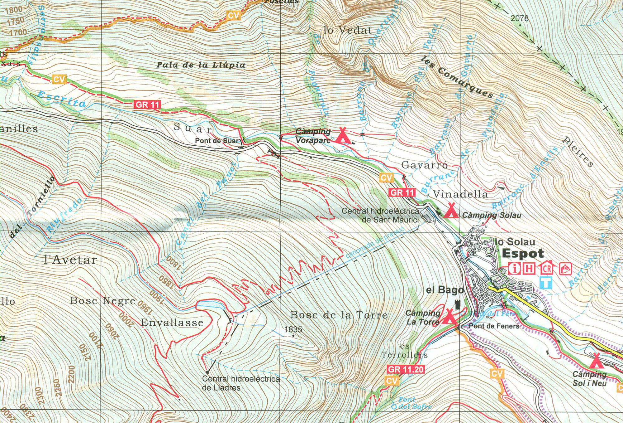náhled Aiguestortes PN Sant Maurici 1:25t mapa ALPINA