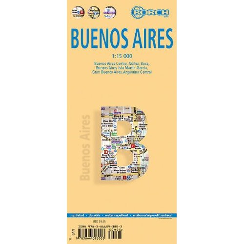 Buenos Aires 1:15t mapa Borch