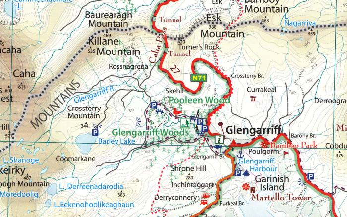 xploreit maps of county cork ireland 1 100k