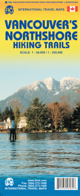 Vancouver´s Northshore Hiking Trails 1:40t/1:1,25m mapa ITM