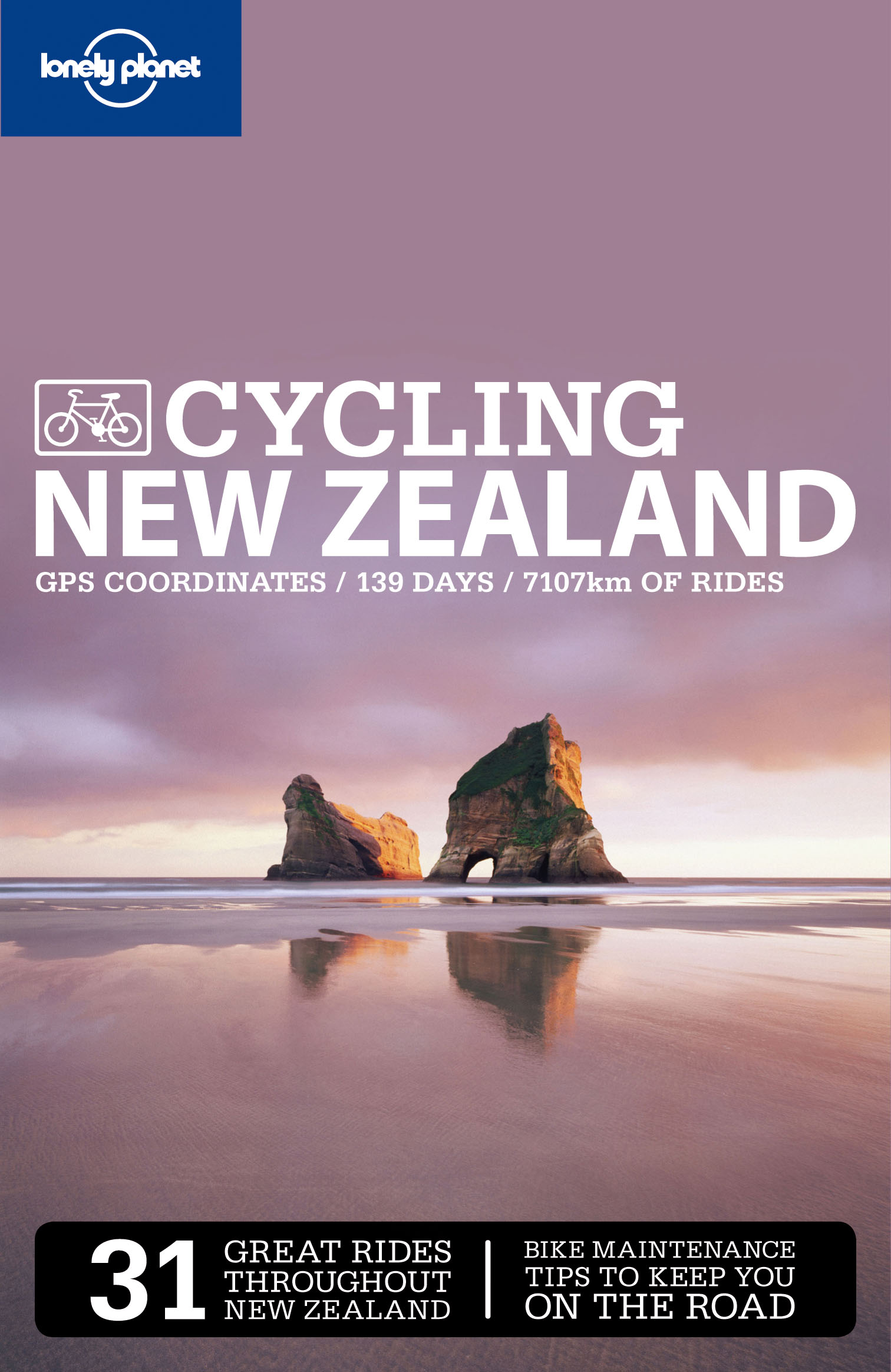 Cycling New Zealand průvodce 2nd 2009 Lonely Planet