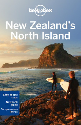 NZ Severní ostrov (New Zealand´s North Island) průvodce 2nd 2012 Lonely Planet