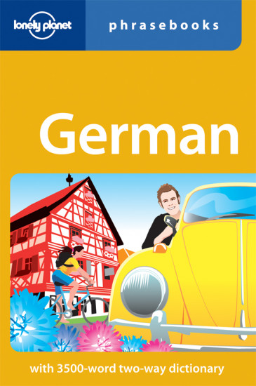 detail German Phrasebook 3rd Lonely Planet