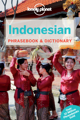 Indonesian Phrasebook 5th Lonely Planet