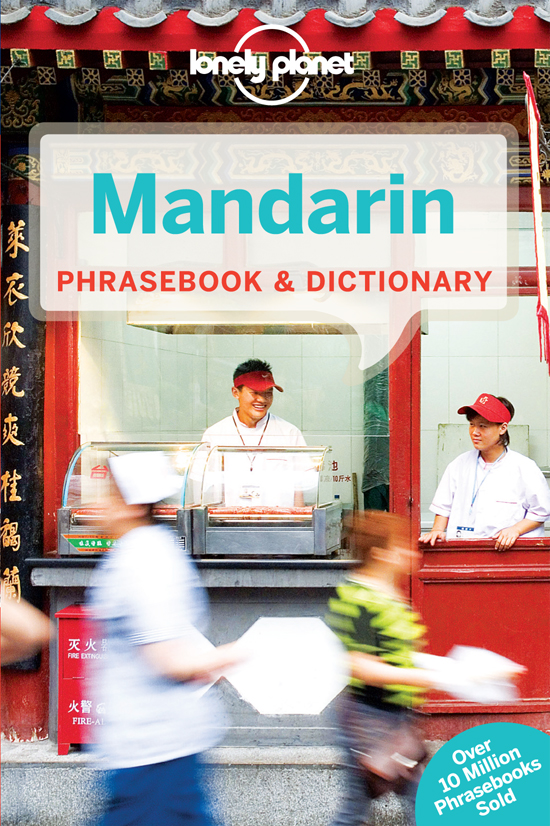 Mandarin Phrasebook 6th Lonely Planet