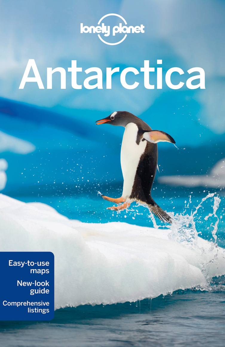 Antarktida (Antarctica) průvodce 5th 2012 Lonely Planet