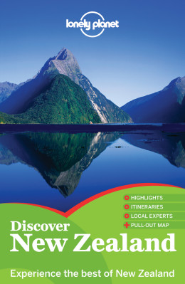 Discover Nový Zéland (New Zealand) průvodce 2nd 2012 Lonely Planet