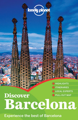 Discover Barcelona průvodce 2nd 2013 Lonely Planet