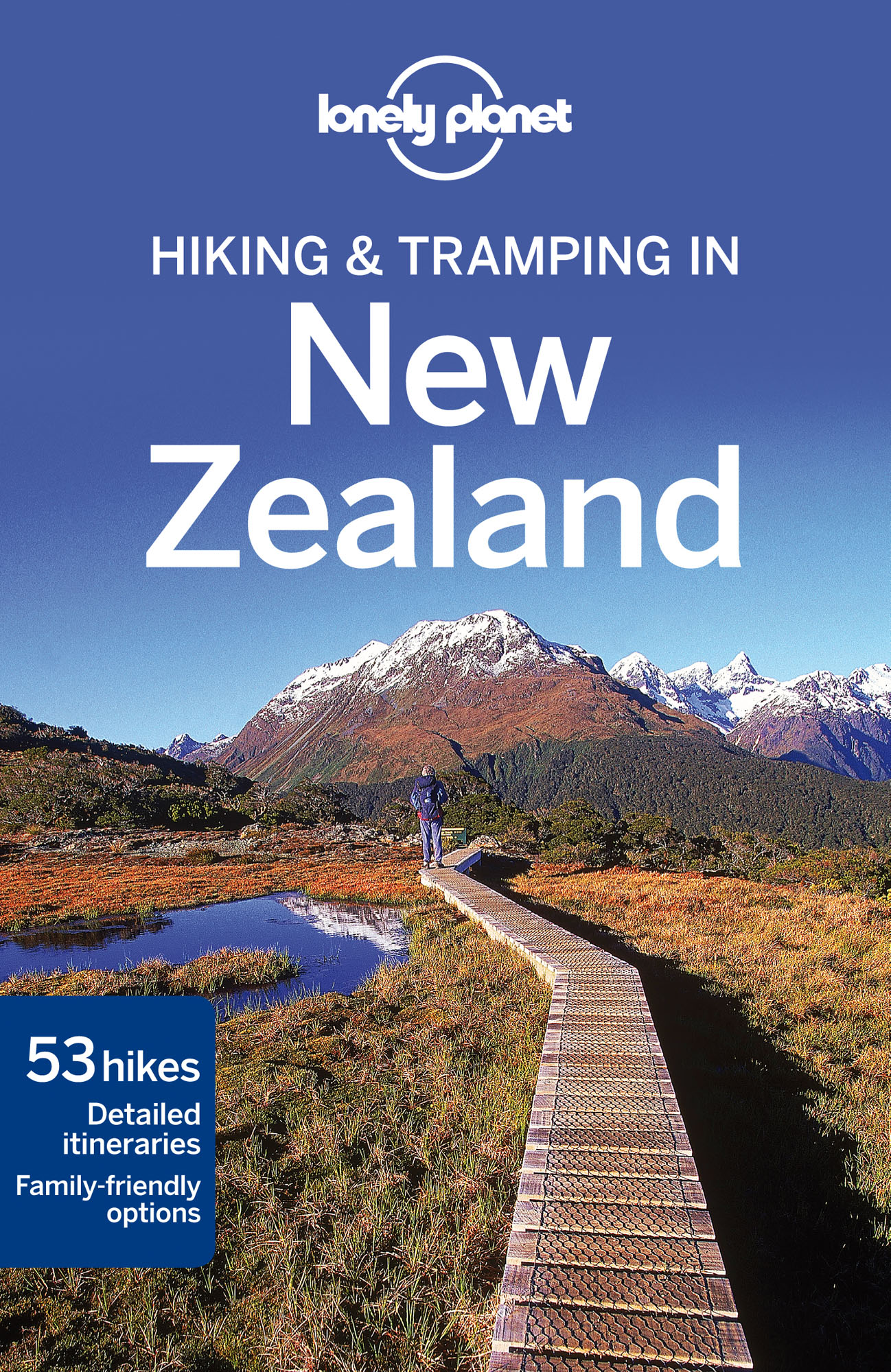 Tramping New Zealand průvodce 7th 2014 Lonely Planet