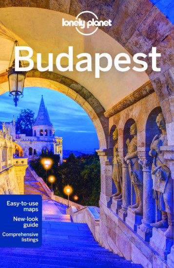 detail Budapest průvodce 6th 2015 Lonely Planet