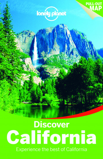 detail Discover California průvodce 3rd 2015 Lonely Planet