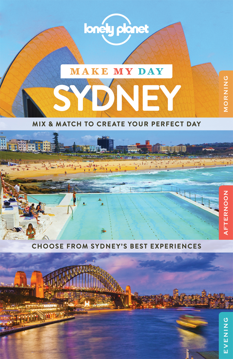 Make my day Sydney průvodce 1st 2015 Lonely Planet