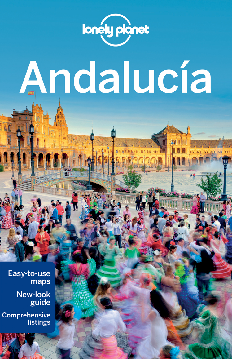 náhled Andalusie (Andalucia) průvodce 8th 2016 Lonely Planet