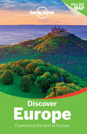 detail Discover Evropa (Europe) průvodce 4th 2016 Lonely Planet