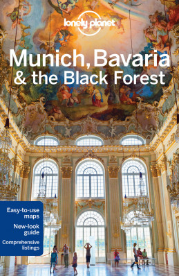 Mnichov & Bavorsko (Munich & Bavaria) průvodce 5th 2016 Lonely Planet
