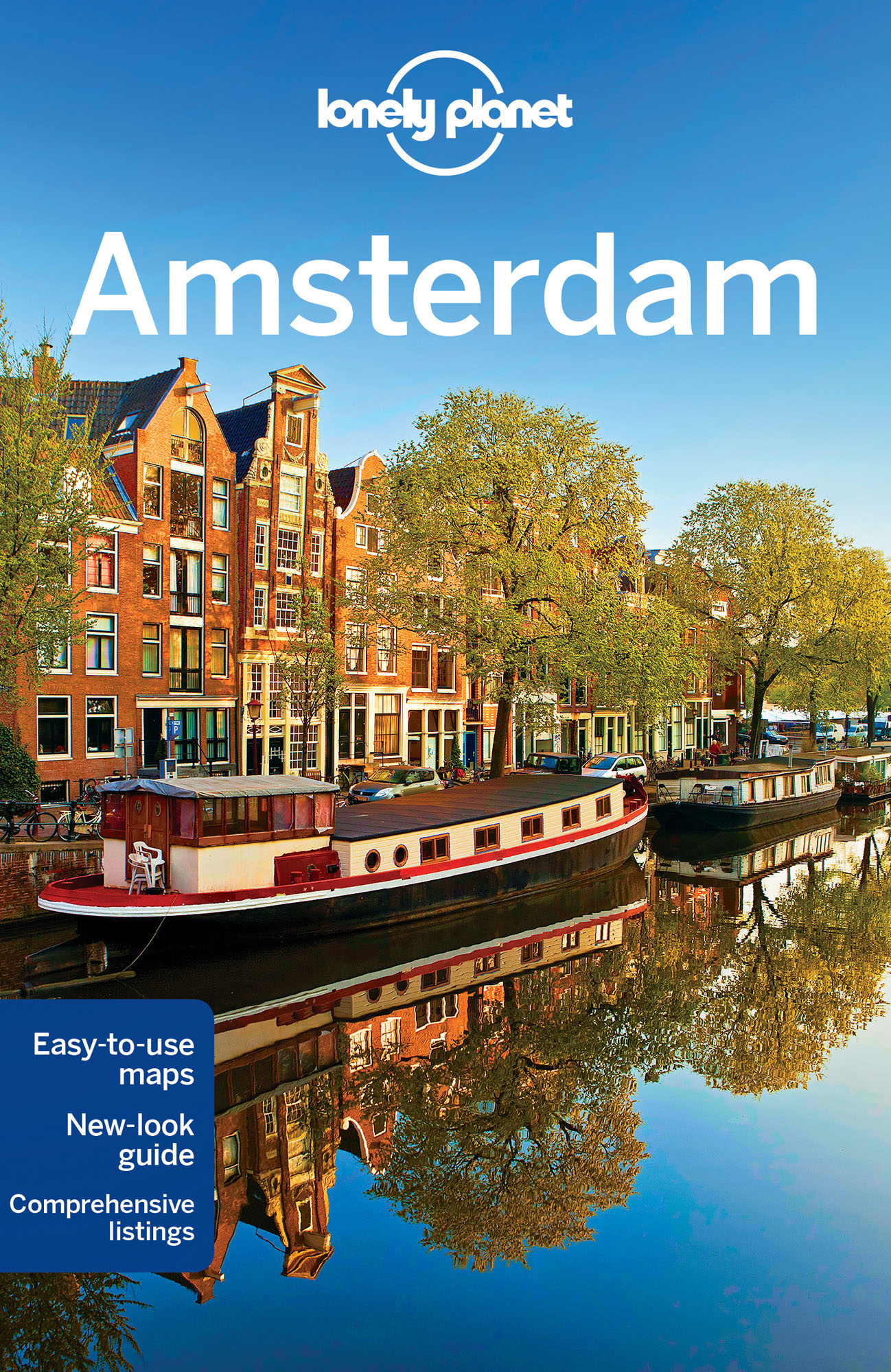 náhled Amsterdam průvodce 10th 2016 Lonely Planet
