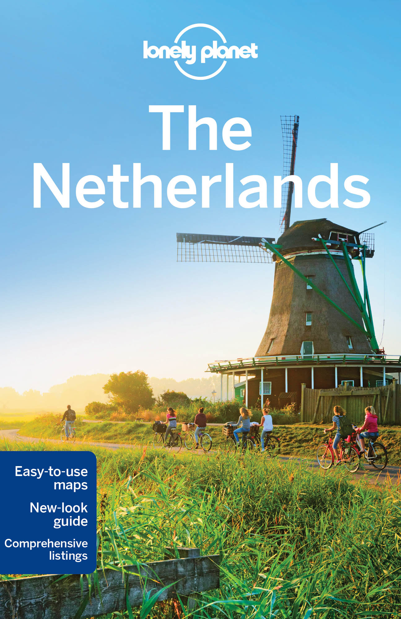 Nizozemsko (The Netherlands) průvodce 6th 2016 Lonely Planet