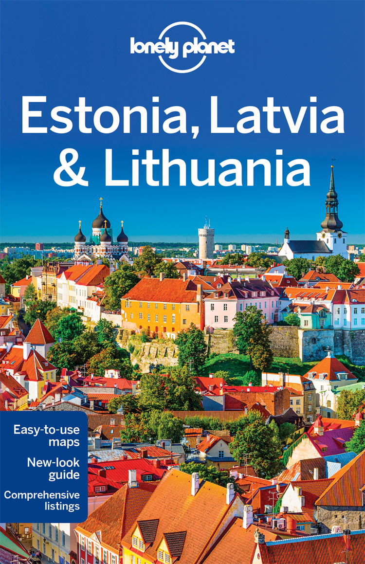 Estonsko, Lotyšsko & Litva (Estonia, Lat. & Lith.) prův. 7th 2016 Lonely Planet
