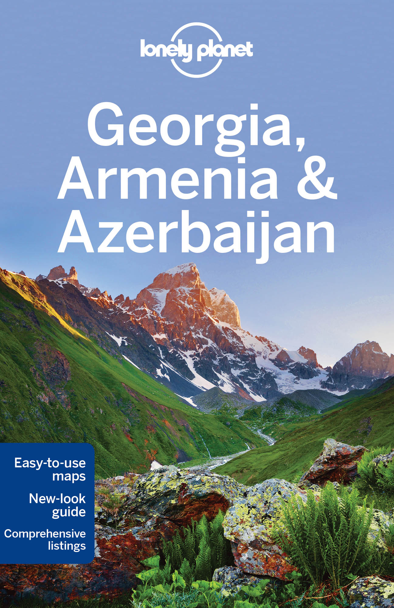 Gruzie, Arménie (Georgia, Armenia & Azerbaijan) průvodce 5th 2016 Lonely Planet