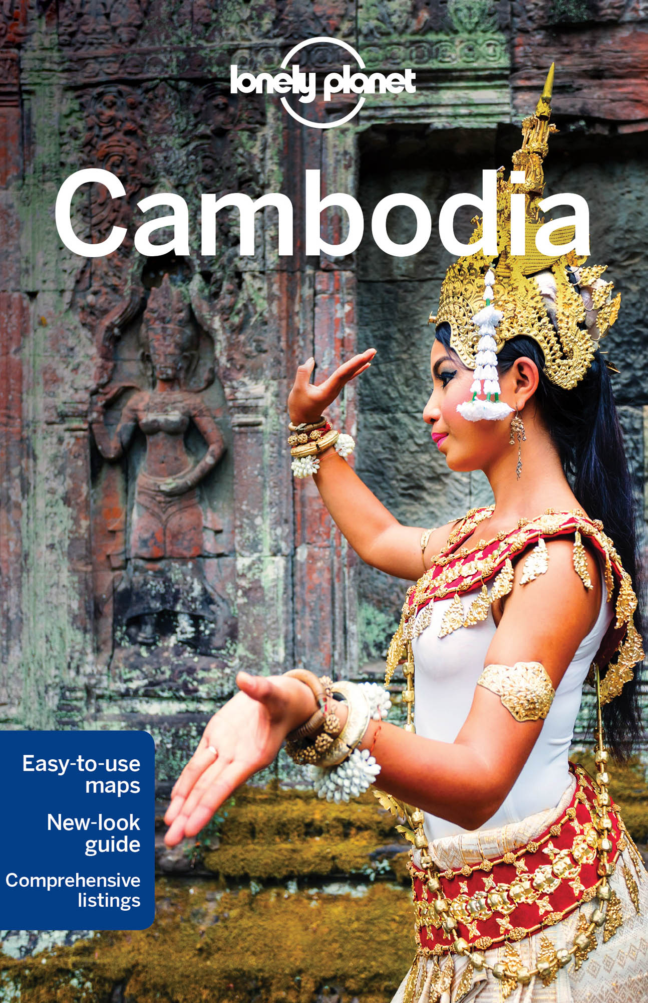 Kambodža (Cambodia) průvodce 10th 2016 Lonely Planet