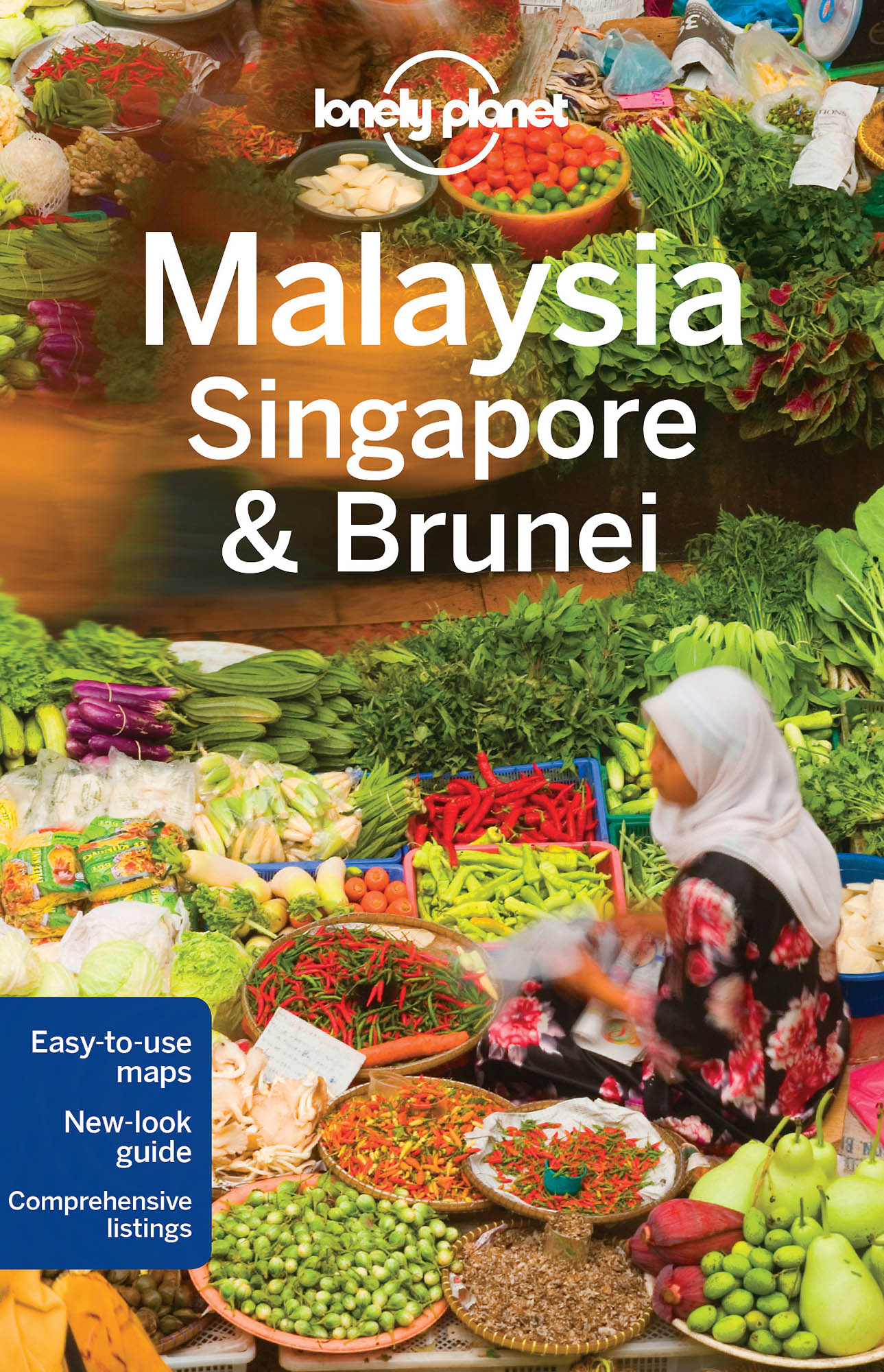Malajsie (Malaysia, Singapore & Brunei) průvodce 13th 2016 Lonely Planet