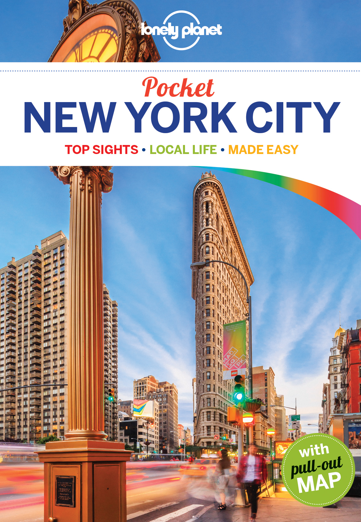 New York City kapesní průvodce 6th 2016 Lonely Planet