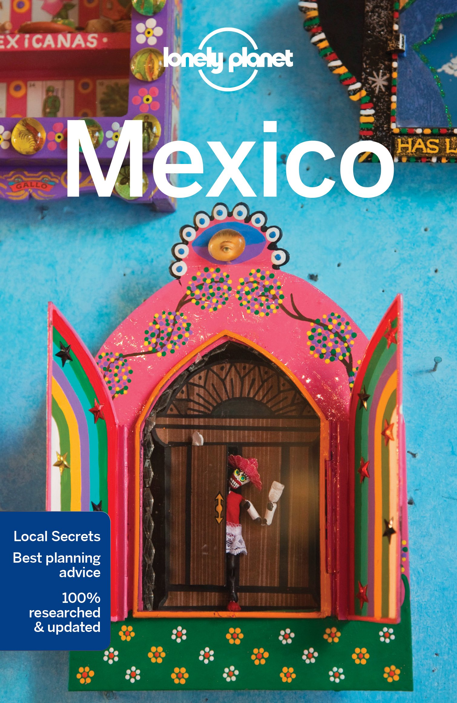 Mexiko (Mexico) průvodce 15th 2016 Lonely Planet