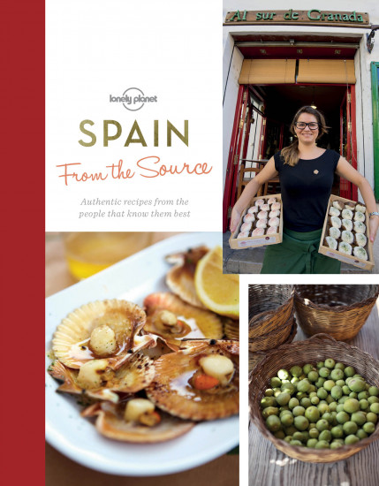 detail From the Source - Spain (Cookbook) 1st 2016 Lonely Planet