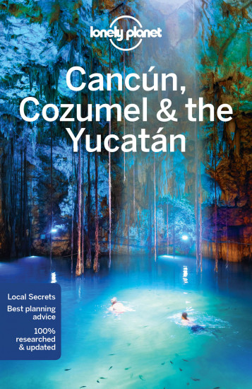 detail Cancún, Cozumel & Yucatan průvodce 7th 2016 Lonely Planet
