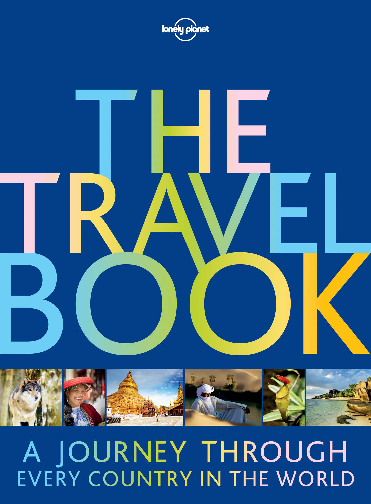 The Travel Book 3rd 2016 hardback Lonely Planet