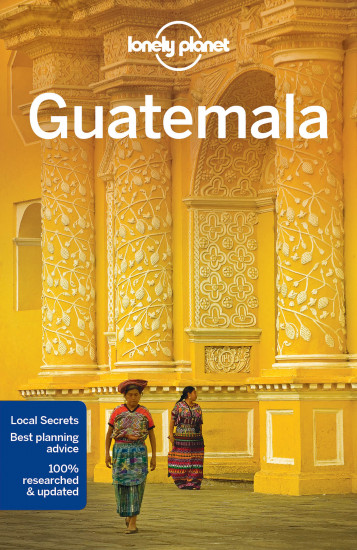 detail Guatemala průvodce 6th 2016 Lonely Planet