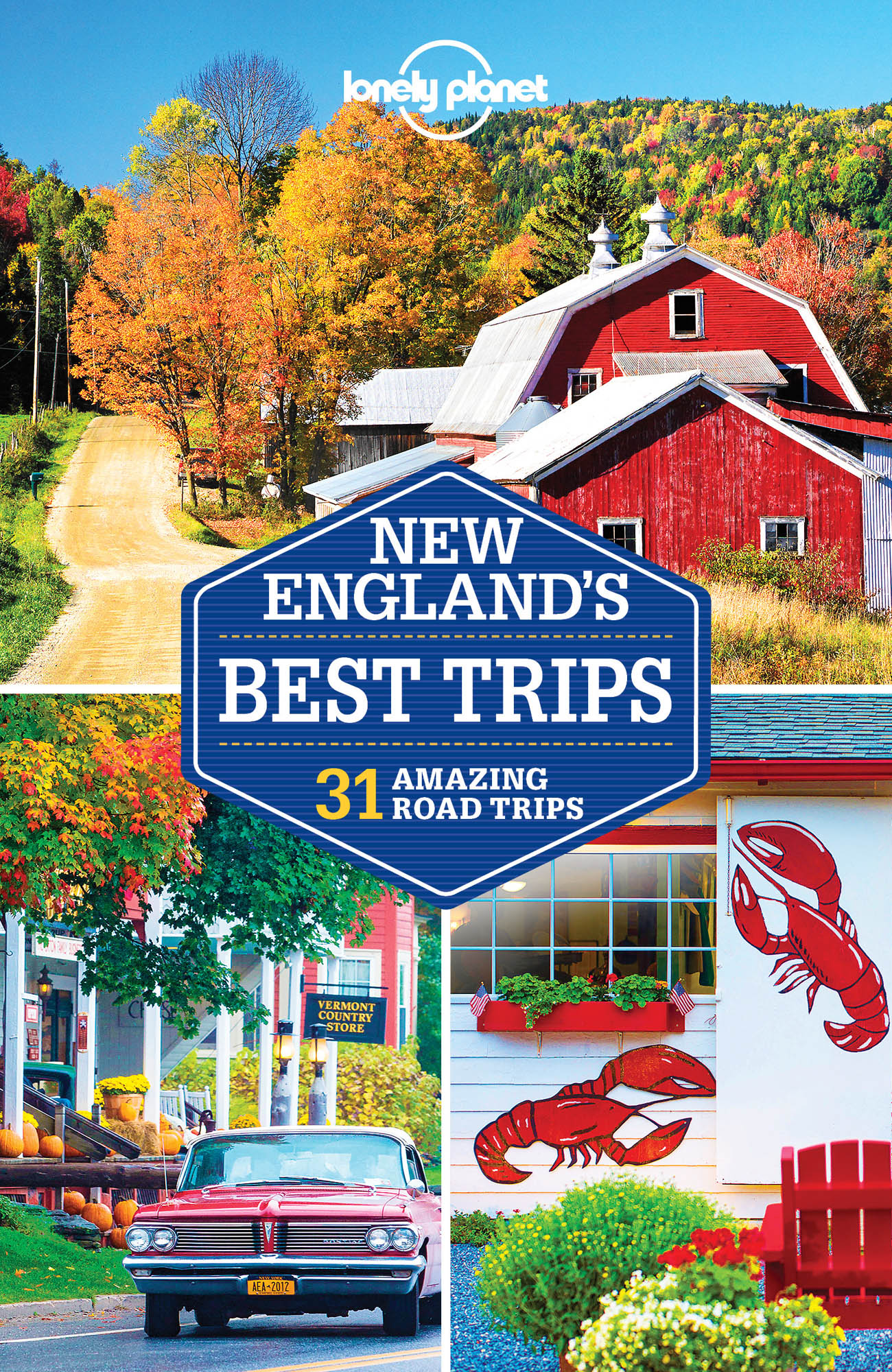 New England´s Bets Trips průvodce 2rd 2017 Lonely Planet