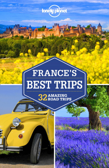 detail France´s Best Trips průvodce 2nd 2017 Lonely Planet