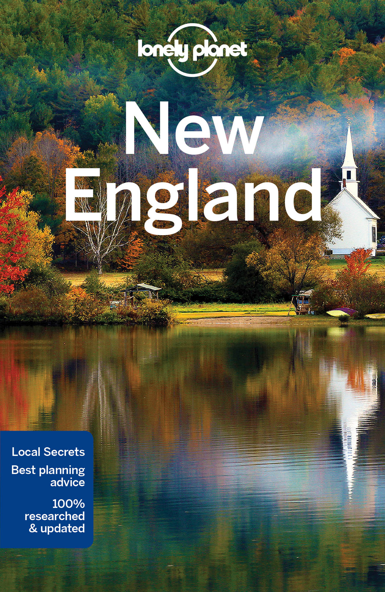 New England průvodce 8th 2017 Lonely Planet