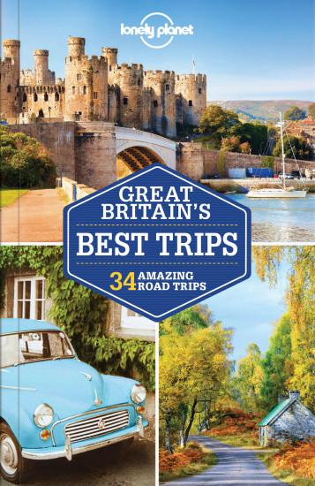 detail Great Britain´s Best Trips průvodce 1st 2017 Lonely Planet