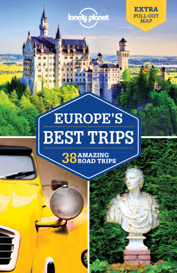 detail Europe´s Best Trips průvodce 1st 2017 Lonely Planet