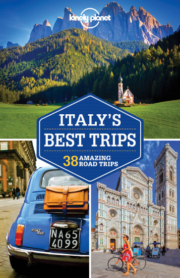 detail Italy´s Best Trips průvodce 2nd 2017 Lonely Planet