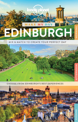 Make my day Edinburgh průvodce 1st 2017 Lonely Planet