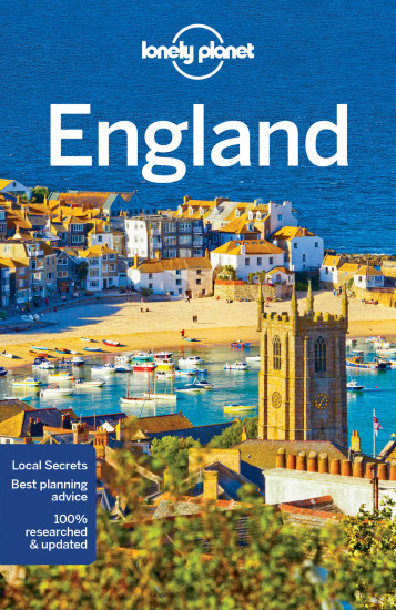 detail Anglie (England) průvodce 9th 2017 Lonely Planet
