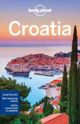 Chorvatsko (Croatia) průvodce 9th 2017 Lonely Planet