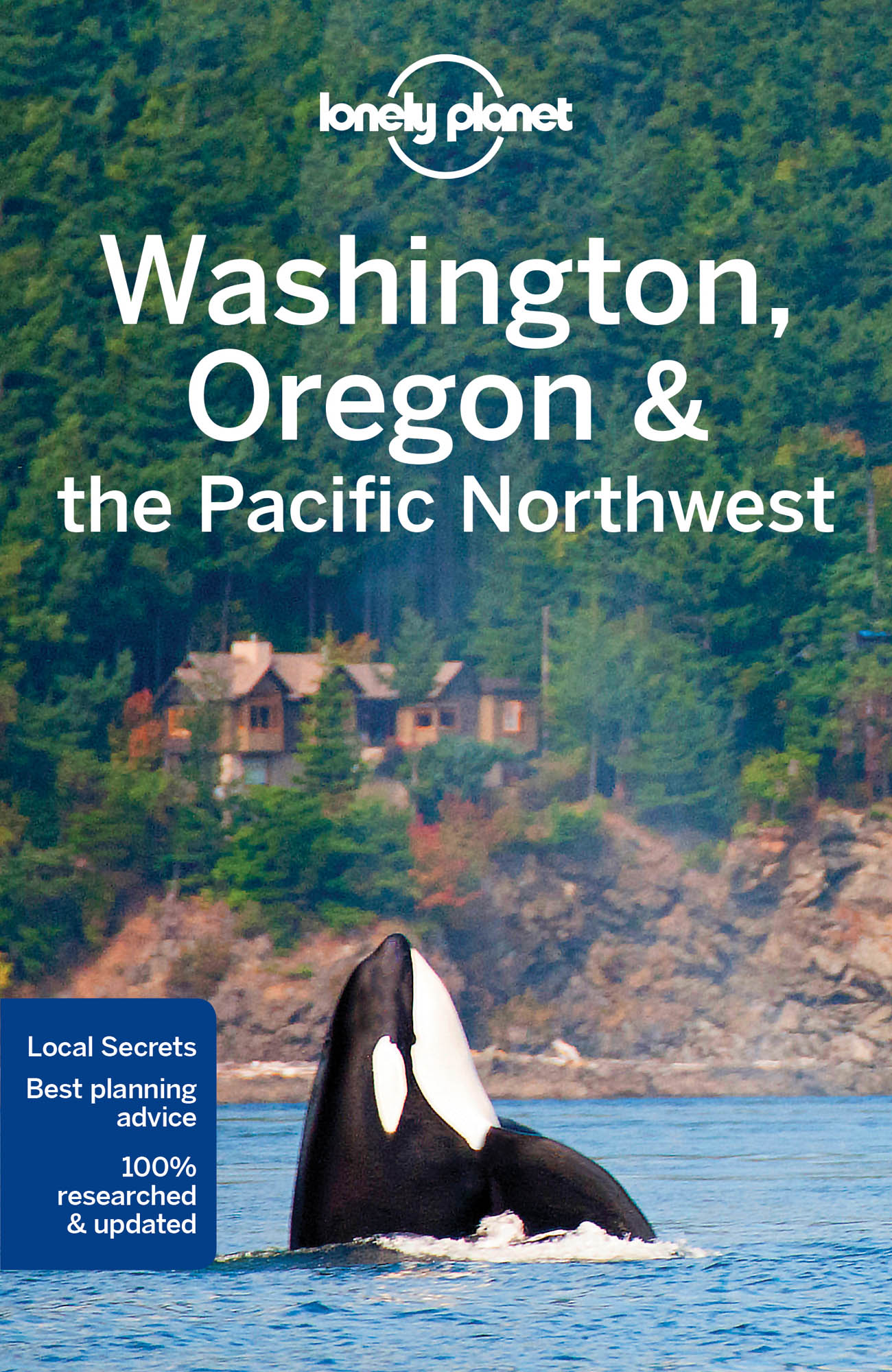 Washington, Oregon & Pacific NW průvodce 7th 2017 Lonely Planet