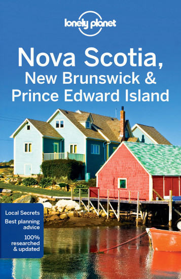 detail N. Scotia, New Brunswick & Prince Edward Island průvodce 4th 2017 Lonely Planet