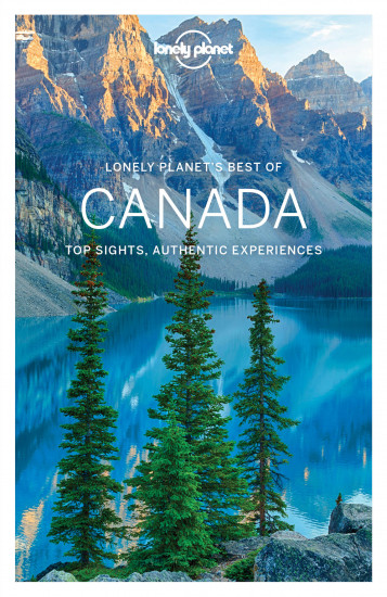 detail Best of Canada průvodce 1st 2017 Lonely Planet