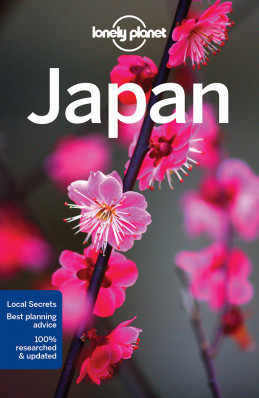 Japonsko (Japan) průvodce 15th 2017 Lonely Planet