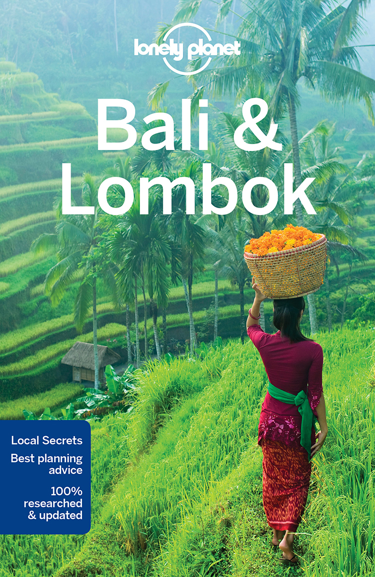 Bali & Lombok průvodce 16th 2017 Lonely Planet