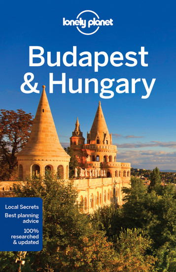 detail Budapest & Hungary průvodce 8th 2017 Lonely Planet