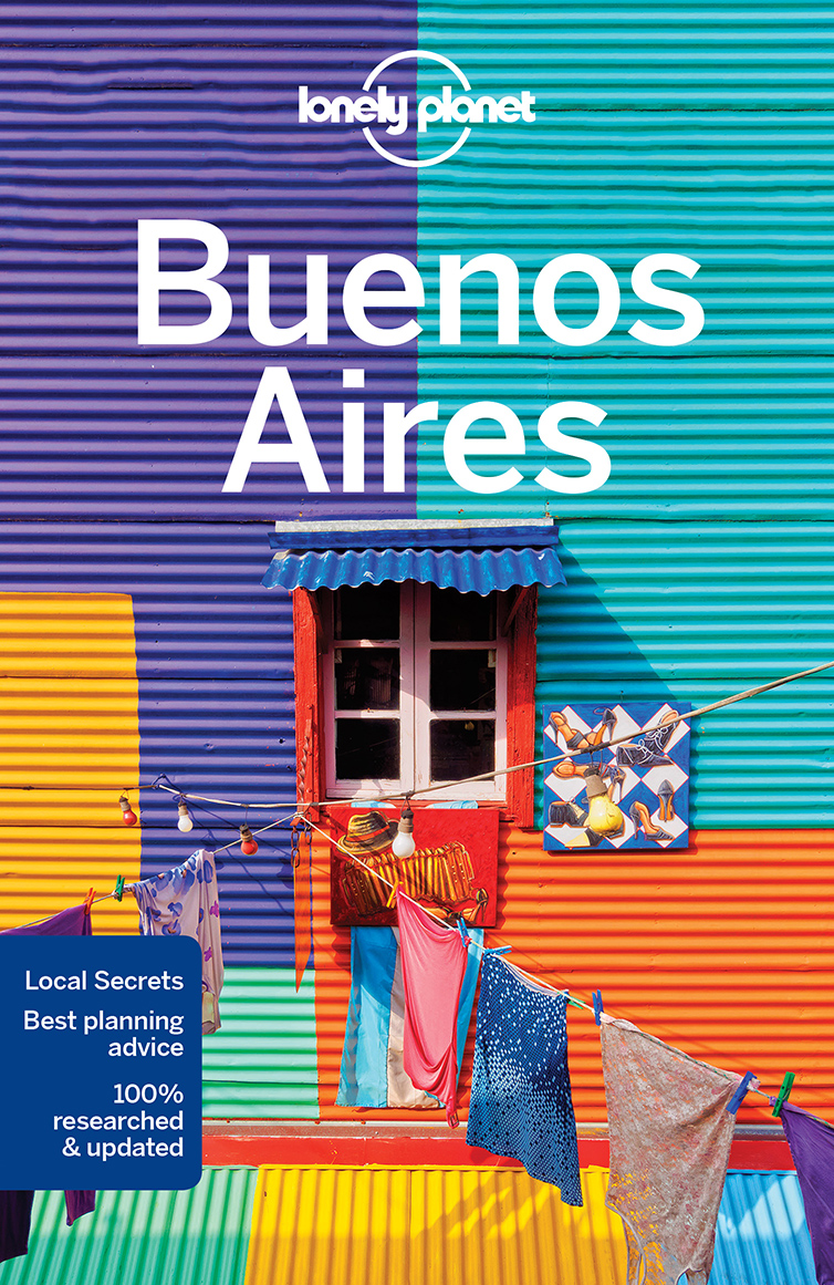 Buenos Aires průvodce 8th 2017 Lonely Planet