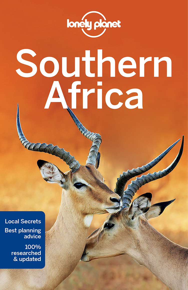 detail Afrika jih (Southern Africa) průvodce 7th 2017 Lonely Planet