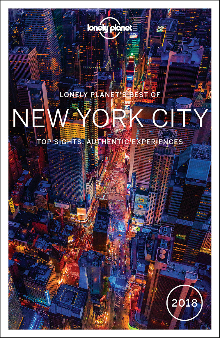 Best of New York City průvodce 2nd 2018 Lonely Planet